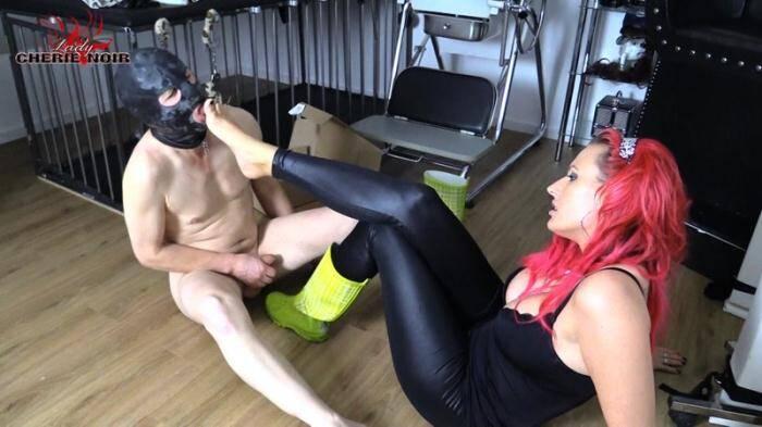 Cherie Noir - Dirty Rubber Boots - Leak Me, My Horny Slave! [FullHD, 1080p] - Clips4sale.com