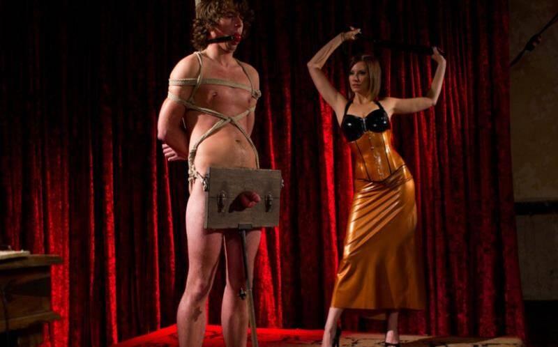 DivineBitches - Lorelei Lee, DragonLily, Maitresse Madeline and Barney - Visual Sensation: CFNM FemDom Theatre [2011 HD]