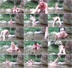 Scat - Poo Fun in the River - Solo Scat (Extreme Porn) [HD, 720p]