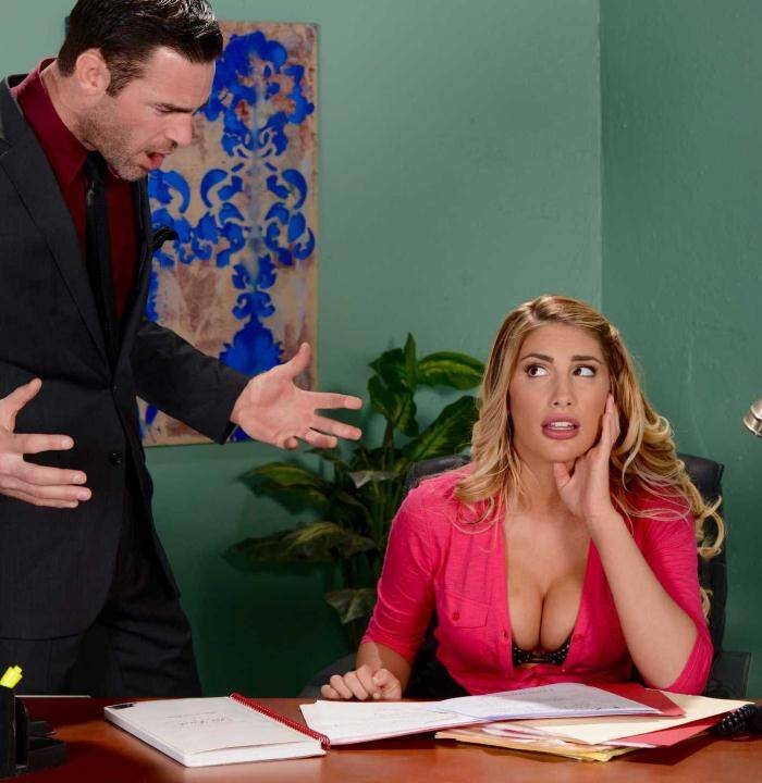 Tits Work - August Ames� - August Briefs Her Boss  [SD 480p]