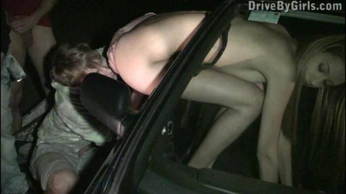 DriveByGirls.com - Mirror, mirror on the car (Amateur) [SD, 480p]