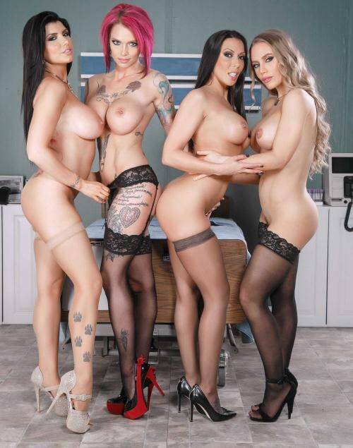 Doctor Porn - Anna Bell Peaks, Nicole Aniston, Rachel Starr, Romi Rain [The Last Dick On Earth] (HD 720p)