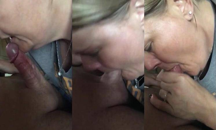 Amateur wife deepthroat blowjob [SD] - Amateurity