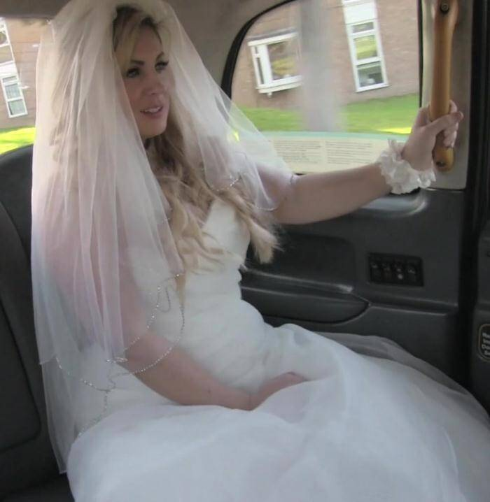 Sex in Taxi - Ashley Downs - E311 Runaway bride needs big cock  [FullHD 1080p]