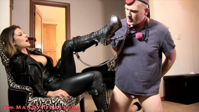 MandyFlores - Mandy - Boot Bitch: Boot Domination [FullHD, 1080p]
