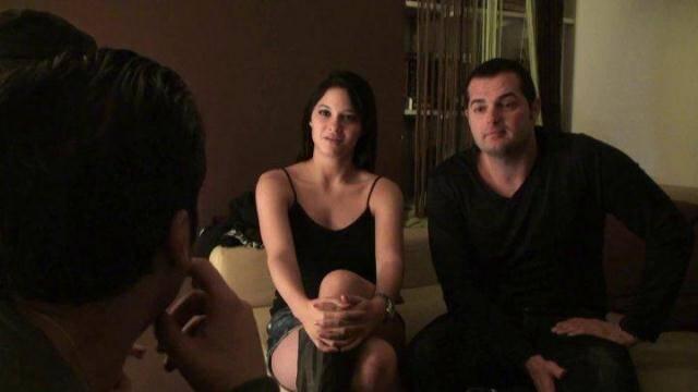 LFaP, NiF - Busty amateur teen gets banged in threesome [HD, 720p]