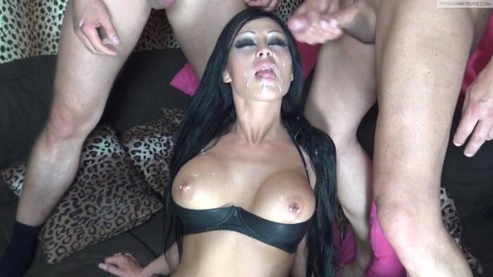 Jacky L - Spritzt der Hure in die Fresse [FullHD, 1080p] - Сrazy Dirty Sex