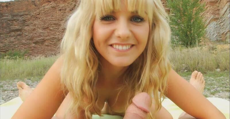 Private - Bella Baby - Czechian Blonde Bella Babys Street Pickup [2014 FullHD]