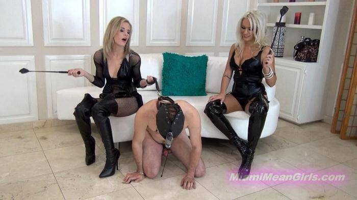 MiamiMeanGirls.com - Beat Off Beating (Femdom) [FullHD, 1080p]