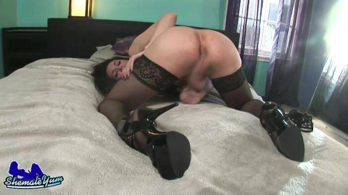 ShemaleYum.com - Penny Tyler Masturbates & Cums (Shemale) [HD, 720p]