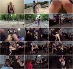 Publ1cD1sgr4c3.com - Fetish Liza and Alexa Wild - Double Vaginal Public Humiliation (BDSM) [SD, 540p]