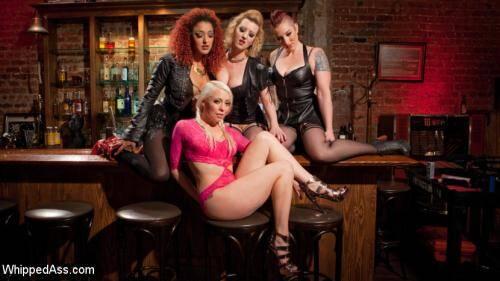 WhippedAss.com/Kink.com - Lorelei Lee , Cherry Torn , Mistress Kara, Daisy Ducati [Dyke Gang 2: Lorelei Lee Devoured by Hot Horny Lesbians!] (SD 540p)