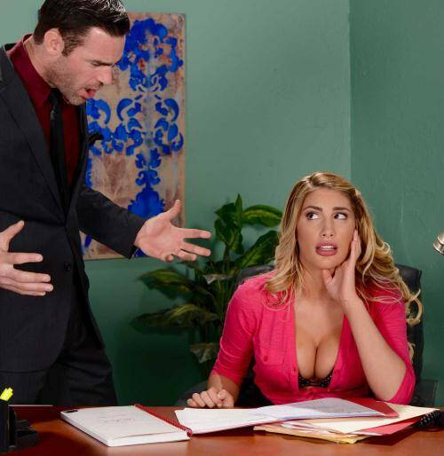 Tits Work - August Ames [August Briefs Her Boss] (SD 480p)