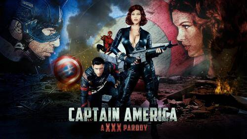 Peta Jensen - Captain America: A XXX Parody (SD, 480p)