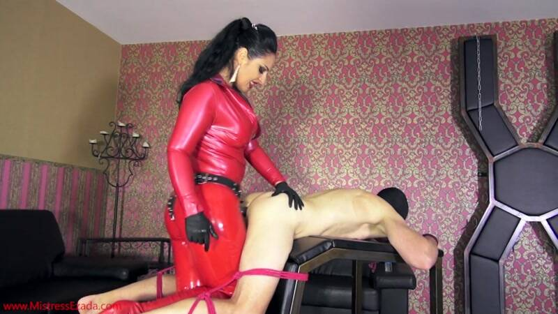 Mistress Ezada - Little Bitch Hard Pegging [FullHD]