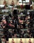 PublicDisgrace, Kink: Steve Holmes, Frank Gun, Isabella Clark - Busty Blonde Isabella Clark Public Double Penetration - Part 1  [SD 540p]  (BDSM)