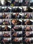 Carol Marf - Chocolate hot babe Carol Marf getting fucked hard in the car [HD 720p] - Fucked In and Traffic