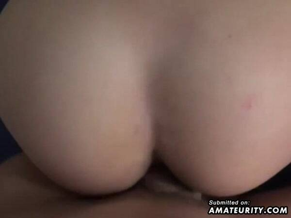Amateurity - Blonde Girlfriend Banged Hard With Facial Shot (Amateur Porn) [SD]