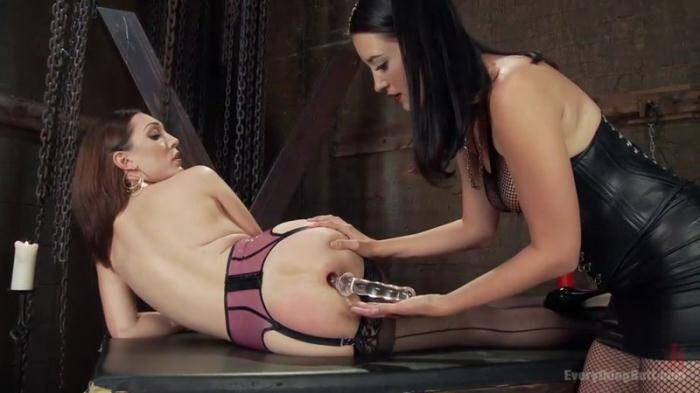 Kimberly Kane gives a diabolically seductive Anal Fisting to Lily LaBeau [EverythingButt, Kink] 540p