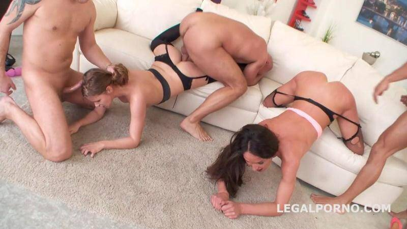 Legal Porno - Take no Prisoners with Nataly Gold & Sarah K - GG TOP DAP fucking 2016 - GIO175 [SD]