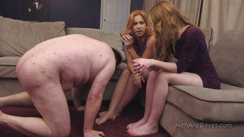 Men Are Slaves - For Jennifer - Foot Fetish [HD]