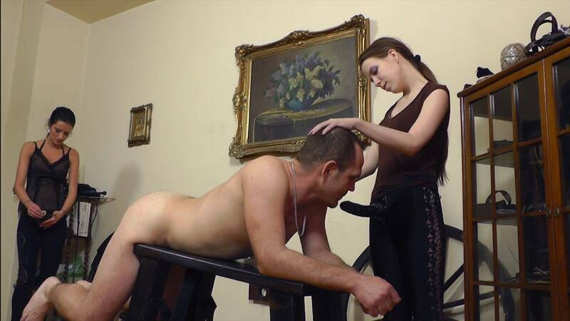 Clips4sale - Extreme Huge Stretching - Strapon Fuck her Ass! [HD]