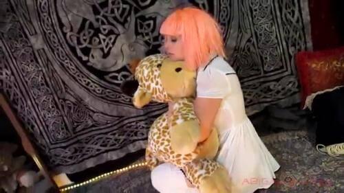 Scat [Little Girl Poops Her Plastic Panties - Solo] FullHD, 1080p