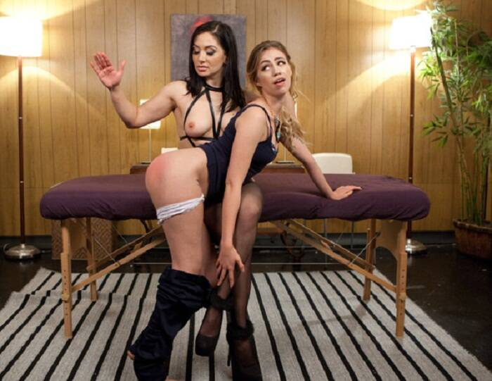 WhippedAss/Kink: Lea Lexis, Lyra Louvel - Happy Endings: Massage turned kinky lesbian sex!!!  [HD 720p 2.34 GiB]  (Femdom)