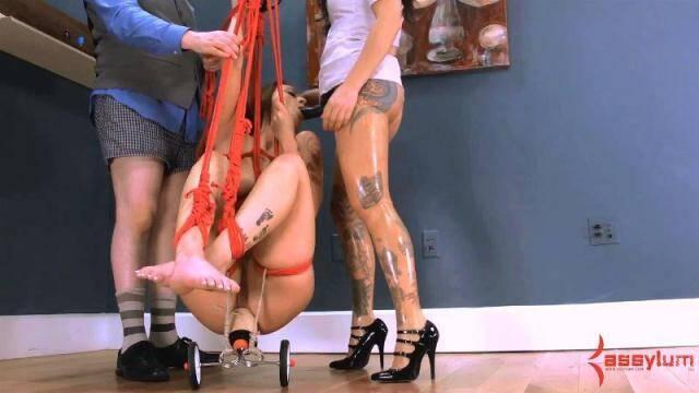 Carmen Capri & Nurse Holl - Painal Training 1 [HD, 720p]