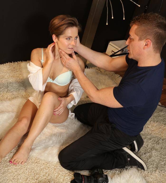 Jones Porn - Sasha Zima, Steve Q - Vision of Beauty  [HD 720p]