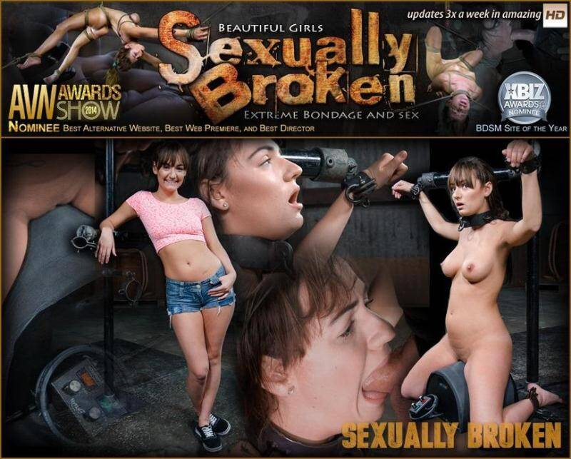SexuallyBroken.com: Charlotte Cross learns to multi task on a sybian with massive orgasms and relentless facefucking! [SD] (190 MB)