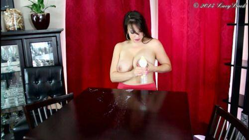 Lacy Luck - Squirting Milk Across the Table [HD, 720p] [Clips4sale.com] - Pregnant