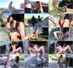 [Spanish redhead teen Lilyan Red in outdoor sex] SD, 480p