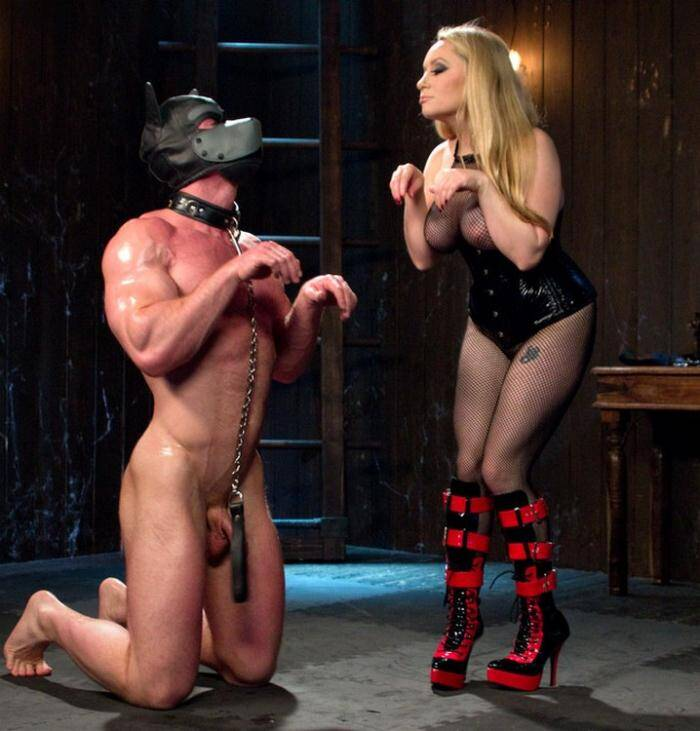 D1v1n3B1tch3s.com/Kink.com - Aiden Starr - Denied and Begging!  [SD 540p]