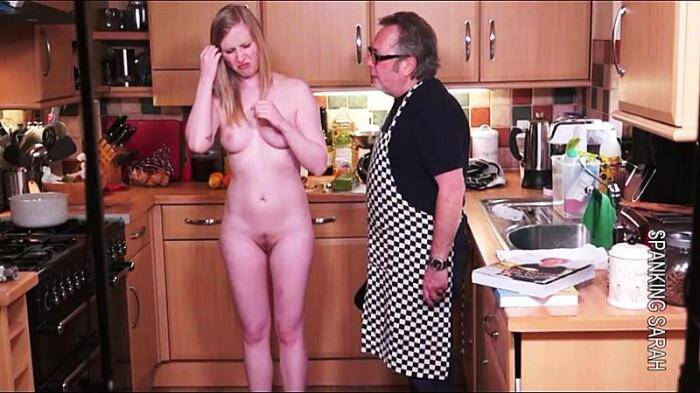 Spanking - Satine the cook book and fruit cake (BDSM) [HD, 720p]
