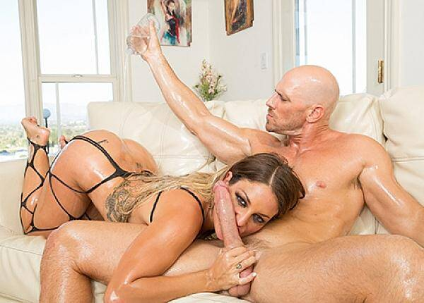Milf - Kissa Sins Caught In An Oil Slick And Stuffed With Dick (Hardcore) [SD, 558p]