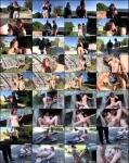 PornDoePremium: Lilyan Red - Spanish redhead teen Lilyan Red in outdoor sex  [SD 480p]  (Public Sex)