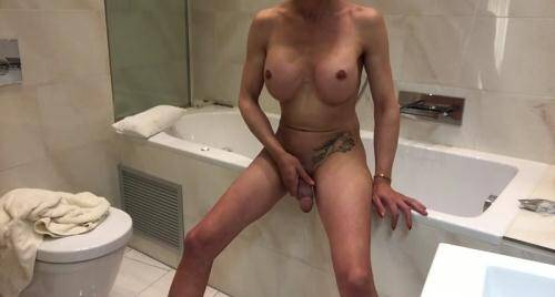 [Geile Sperma Spiele in der Badewanne] HD, 720p