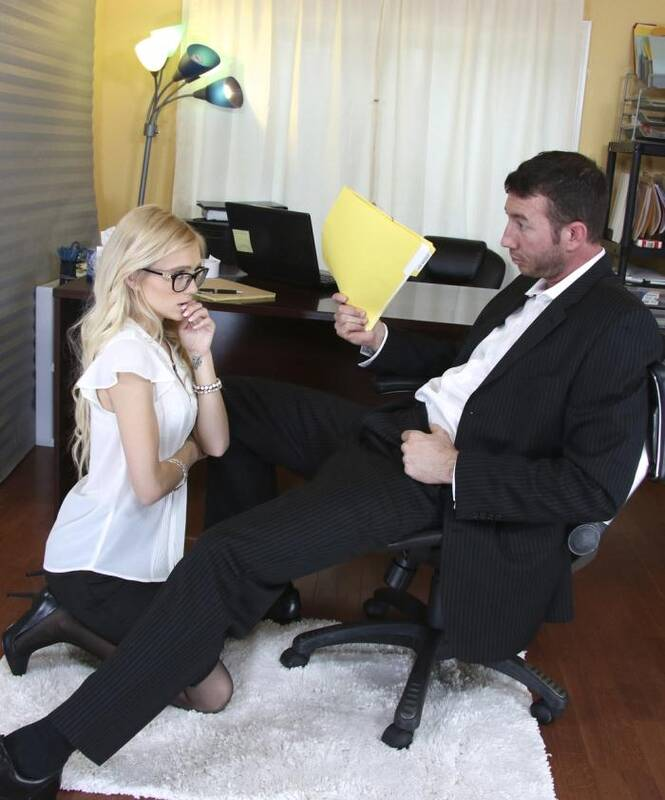 BBClips - Alex Grey - Sexy Secretary pays for her mistakes!  [HD 720p]