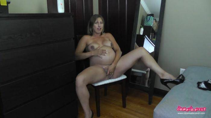 Clips4sale.com - Candi - Strip n Rub (Pregnant) [FullHD, 1080p]