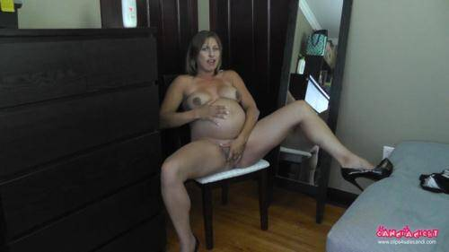 Candi - Strip n Rub [FullHD, 1080p] [Clips4sale.com] - Pregnant