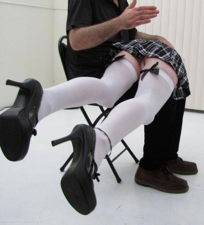 SchoolGirlSexPunishment: Mabel Rose - Teen Reform School: Spanking and Hogtie-Bondage Enemas for Mabel Rose  [SD 480p]  (BDSM, Spanking)