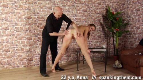 Anna (22) [HD, 720p] [SpankingThem.com] - Spanking