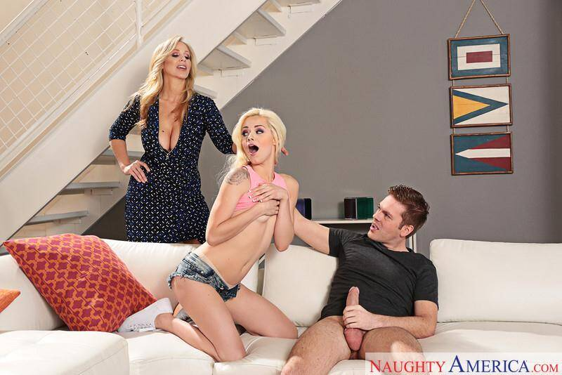 Seduced By A Cougar - Elsa Jean, Julia Ann (21037 / 15.04.16) [SD]