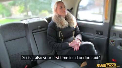 [Sexy Dutch lady tries anal in taxi] SD, 480p
