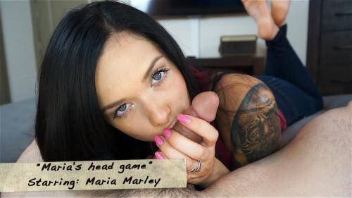 Maria Marley - Maria's head game [SD, 540p] [Clips4Sale.com] - Teen