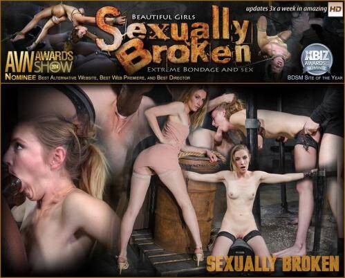 SexuallyBroken.com [Toned all natural Mona Wales shackled onto sybian, dynamic shifting bondage with epic deepthroat!] HD, 720p