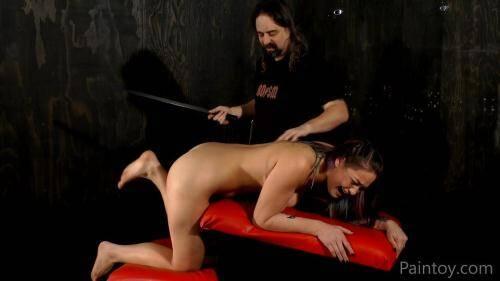 Kiki Sweet - Blistered butt [FullHD, 1080p] [Paintoy.com] - Spanking
