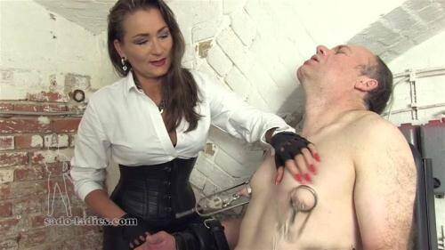Extreme Nipple Pain SLENP [FullHD, 1080p] [Sado-ladies.com] - Femdom