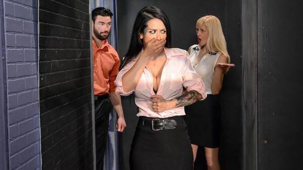 Katrina - The Intern's Turn (SD, 480p) [Work Fantasies, Black Hair, Couples Fantasies, Creampie, Business Woman, Blowjob, Ass Worship, Big Tits Worship, Cheating, Milf]